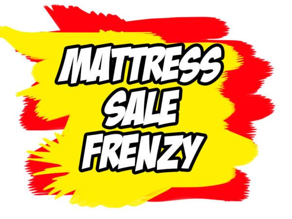 mattress-sale-frenzy