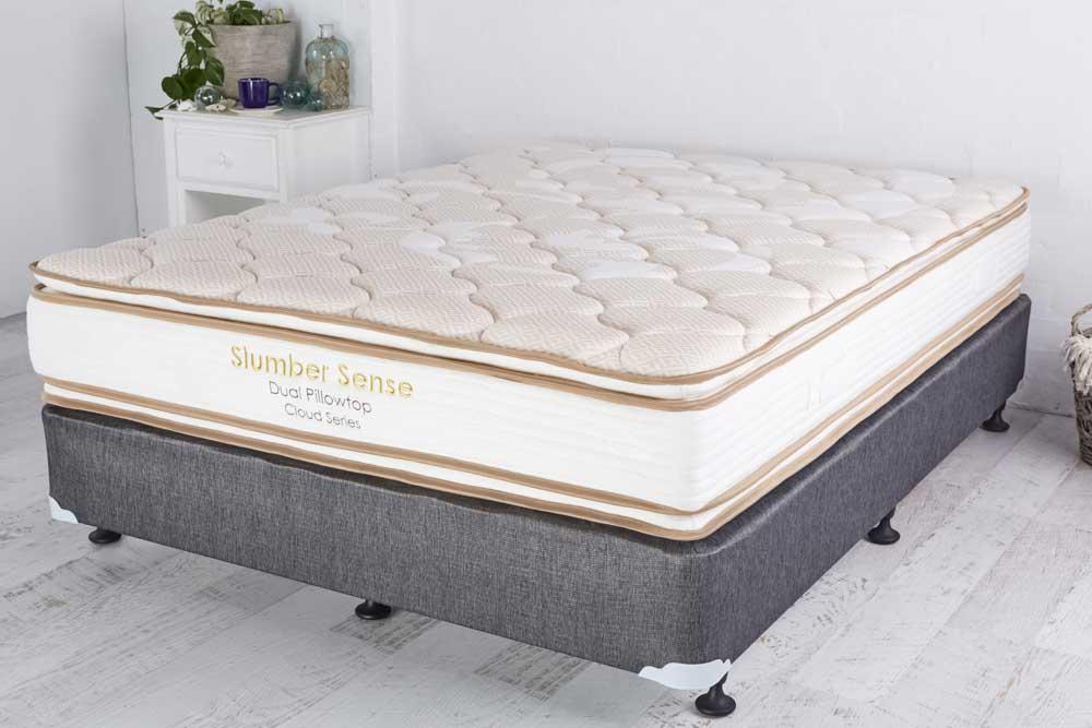 Slumbersense Queen Double Sided Pillowtop Mattress Mattress Sale