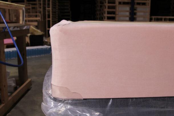 pink bed base