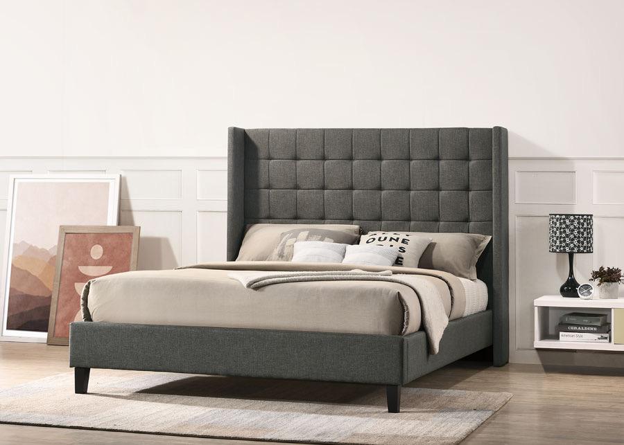 Charlotte Queen Bed Frame Mattress, Charlotte Queen Bed